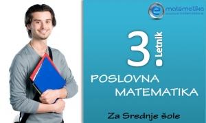 3.Letnik Srednja Šola Poslovna Matematika